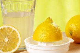 limon suyu içmenin faydaları