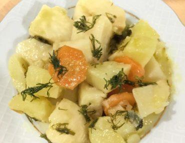 Portakal soslu kereviz tarifi – Diyet yemekleri