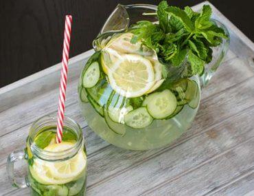 Göbek eriten salatalık çayı nasıl hazırlanır?