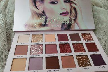 UCANBE Aromas Nudes Eyeshadow Palette yorum