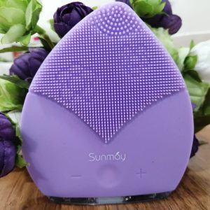 Sunmay Leaf™ Silicone Sonic Facial Cleansing Brush