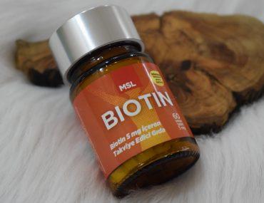 İçten dışa güzelliğin sırrı : MSL Biotin