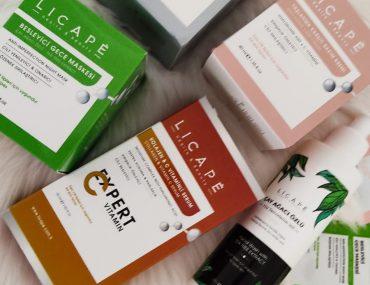 Licape cilt bakım ürünlerini deniyorum