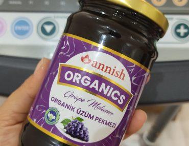 Annish Organics Soğuk Sıkım Üzüm Pekmezi ve Sürpriz Tarif